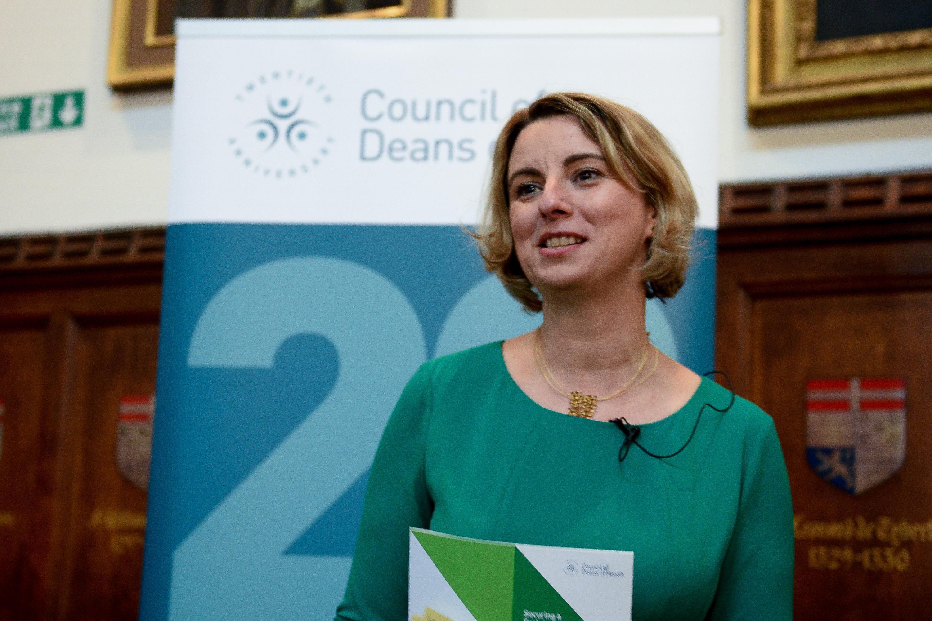 Katerina Kolyva - Council of Deans of Health