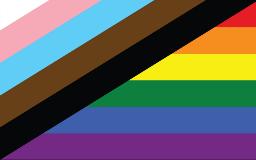New PRIDE flag for blog