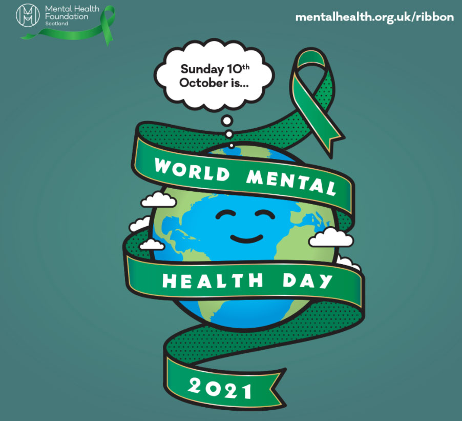 10 October 2021 is World Mental Health Day