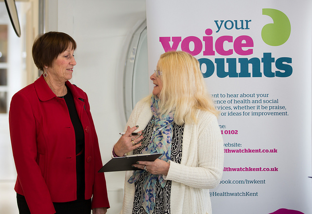 Feeding back healthwatch