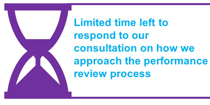 Limited time left to respond to our consultation