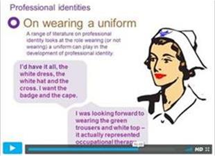 Professional identity video explainer
