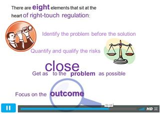 Right-touch regulation visual